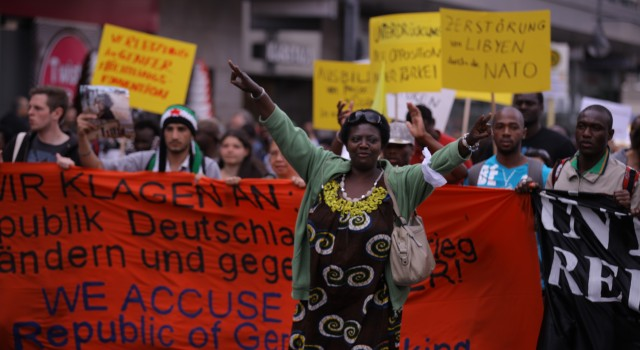 "Demonstration of Solidarity. THE TRIBUNAL AGAINST GERMANY ""United against colonial injustice"""